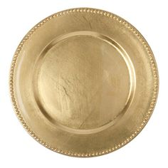 Claudette Charger Plate