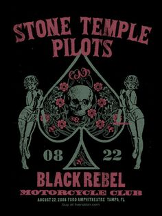 Stone Temple Pilots | Limited Edition Gig Posters Archives | Page 7 of 9 | Methane Studios