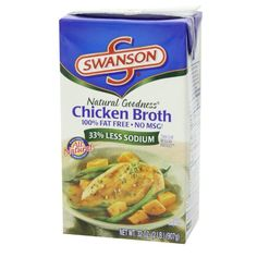 Swanson Natural Goodness® Chicken Broth