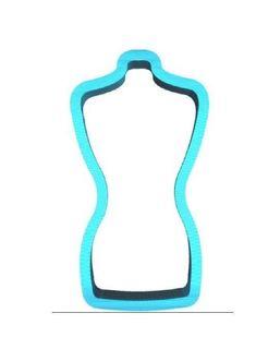 Dress Form Cookie Cutter Mannequin Cookie Cutter Sewing Cookie Cutter  | eBay