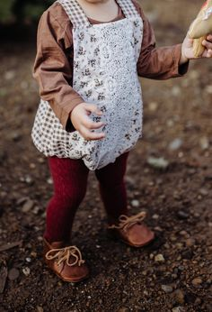 Handmade Boho Baby Romper Christmas Holiday Outfit | AshleyRoseClothing on Etsy