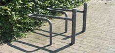 Ravello mit Systempfosten, public design,  Fahrradständer, Fahrradanlehner, bicycle stands, Stadtmobiliar, street furniture