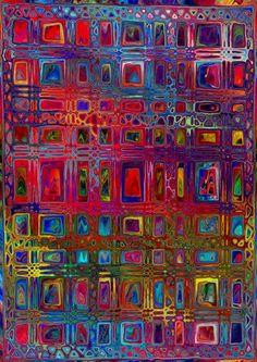 Textile Artists, Textile Fiber Art, Fibre Art, Art Plastique, Fabric Panels, Medium Art, Mixed Media Art, Bold Colors, Decoration