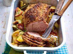 Weihnachtsessen mit Fleisch - feine Braten, Filet & Co. - saftiger-schweinebraten3  Rezept