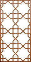 Moorish Pattern Lattice