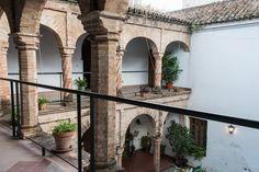 patio mudéjar (s. XV) de la Casa del Rey Moro, una de las más antiguas de Sevilla
