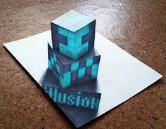 """Check out new work on my @Behance portfolio: """"Illusion cube"""" http://be.net/gallery/46633757/Illusion-cube"""