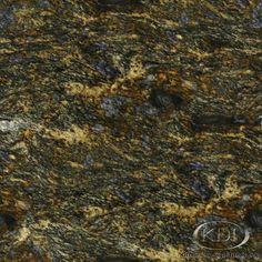 Cinderella Blue Granite  (Kitchen-Design-Ideas.org)