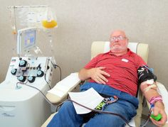 Congrats to James Tschirhart of Moraine who made his 75th lifetime donation at CBC-Dayton yesterday! Thanks for being a lifesaver!