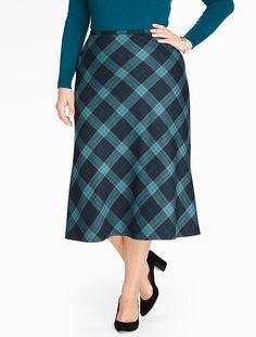 Talbots - Plaid Riding Skirt | Woman | Woman