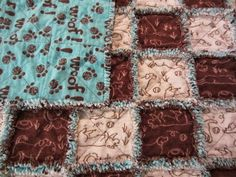How to make a Rag Quilt - My Patchwork Quilt