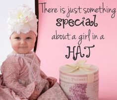 There is just something special about a girl in a HAT...and we have some super cute ones on sale!  http://www.jamieraehats.com/specials/clearance  www.jamieraehats.com