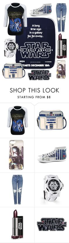 """""""STAR WARS"""" by cris-conde ❤ liked on Polyvore featuring Topshop"""