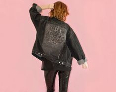 Guns n Roses Jacket Signed 90s Vintage Unisex by CULTSCOLLxTION