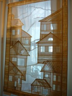 Window Coverings, Window Treatments, Home Textile, Textile Art, Korean Crafts, Patchwork Curtains, Fiber Art Quilts, Creative Embroidery, Textiles