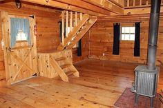 500sf Tiny Log Cabin in Viola WI For Sale 004