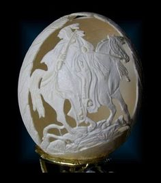 Egg carving