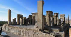 Check out this historic architecture. This is the Ancient Palace in Persepolis dating back to 515 BC. #History #Ancient #Ruins