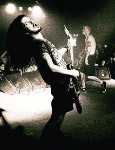 Dimebag Darrell and Phil Anselmo
