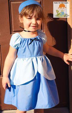 Cinderella Dress- Ball Gown- Disney Princess. $42.00, via Etsy.