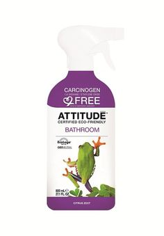 Top Eco-Friendly Bathroom Cleaners: Attitude Bathroom Cleaner