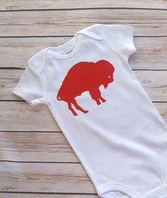 Buffalo Bills Baby Toddler Newborn Onesie by ModernChicKids