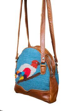 35391c2e51 Very obsessed with this bag s blend of indigenous textile and modern shape.