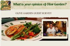 Tell your opinion regarding service of Olive Garden for a chance to win $1000 or hundreds of $50.  #SurveySweepstakes  #Win #Cash #Feedback #Monthly