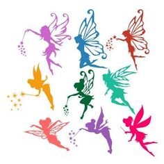Flying Fairy SVG Cuttable Designs