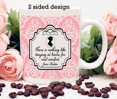 Jane Austen Mug 2-Sided Design Home Comfort by missbohemia on Etsy