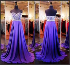 Grape Prom Dresses,Chiffon Prom Gowns,Sparkle Prom Dresses,Long Party