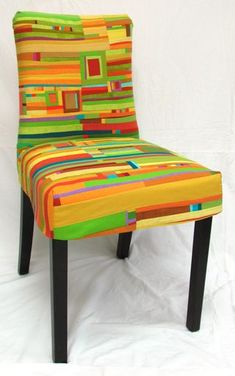 Fab quilted chair by Jean Wells