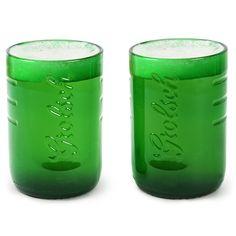 Grolsch Beer Bottle Tumblers 12.3oz / 350ml | Grolsch Glasses Beer Glasses - Buy at drinkstuff