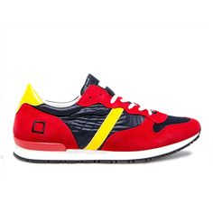 Spring Summer 2015 D.A.T.E. Sneakers Collection / Italian design / Boston Nylon Blue:http://bit.ly/1DjEJpM
