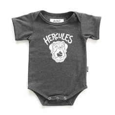 HERCULES ONESIE Hercules, Baby Love, Onesies, Kids, Clothes, Collection, Fashion, Young Children, Outfits