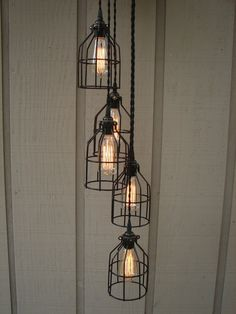 5 Light Industrial Pendant by BenclifDesigns on Etsy, $292.00