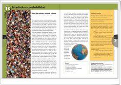 """Unidad 13 de Matemáticas de 2º de E.S.O.: """"Estadística y probabilidad"""" Chart, Interactive Activities, Unity, United States"""