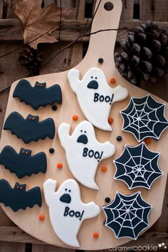 Halloween cookies | Caramel Cookie