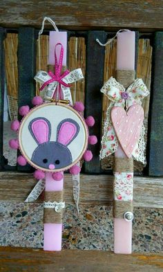 Happy Easter, Easter Bunny, Easter Eggs, Decor Crafts, Diy And Crafts, Diy Ostern, Palm Sunday, Spring Crafts, Easter Crafts