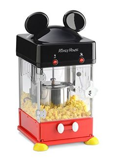 Disney Mickey Kettle Style Popcorn Popper Disney