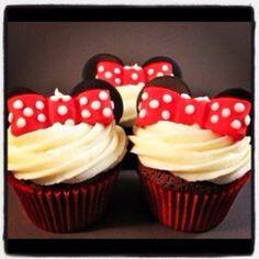 #minniemouse #cupcake #dessert
