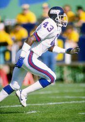 Terry Kinard # 43 New York Giants CB College:Clemson