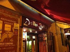 Delhi Belhi, 22 Rue de la Barillerie. A great choice if your night out isn't complete without a curry!
