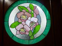 Este vitral lo hice a partir de un patrón de Chantal.
