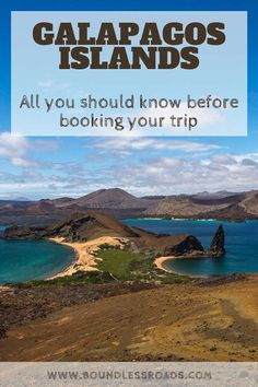 This is your ultimate guide about traveling to Galapagos. Here you will find everything you need to know to organize your trip, from the specific governmental entry regulations to where to stay, where to go, what places to see and much more. South America Destinations, South America Travel, Travel Destinations, Romantic Destinations, Travel With Kids, Family Travel, Galapagos Islands, Galapagos Trip, Solo Travel