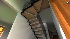 MO01 - Ristrutturazione di intero immobile (Molinella, BO): scala d'arredo