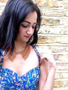 #dress from #joythestore #blue #summer #floral #modaonthego #thereisalovestorybetweenagirlandherdress