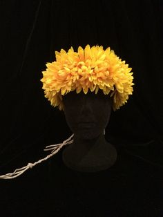 70's Hippie Daisy Chain Chrysanthemum by EmpireCoutureCostume