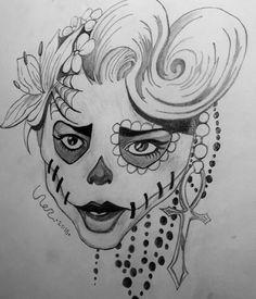 Dit is een van mijn tekeningen die ik heb gemaakt. Ik maakt verschillende dingen; soms dieren, soms aparte gezichten of graffiti. Ik heb altijd al van tekenen gehouden en ik vind het fijn om te doen als ik even wat anders wil doen. Het maakt me rustig als ik veel dingen aan m'n hoofd heb.
