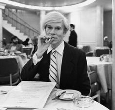 Andy Warhol (/ˈwɔːrhɒl/;[1] born Andrew Warhola; August 6, 1928 – February 22, 1987) was an American artist, director and producer who was a leading figure in the visual art movement known as pop art. His works explore the relationship between artistic expression, celebrity culture, and advertising that flourished by the 1960s, and span a variety of media.